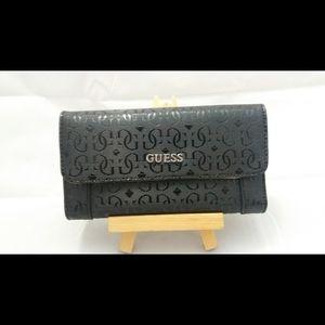 Like New Women's Black Guess Wallet